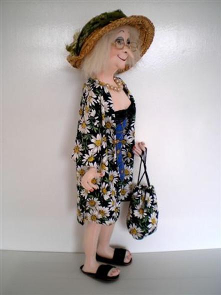 Olive - Cloth Doll Pattern by Jill Maas