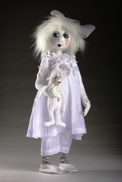 Snowdrop and Frosty - Cloth Doll Pattern by Jill Maas