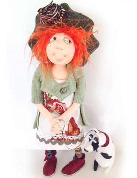 Danika & Rocco - Cloth Doll Pattern by Jill Maas