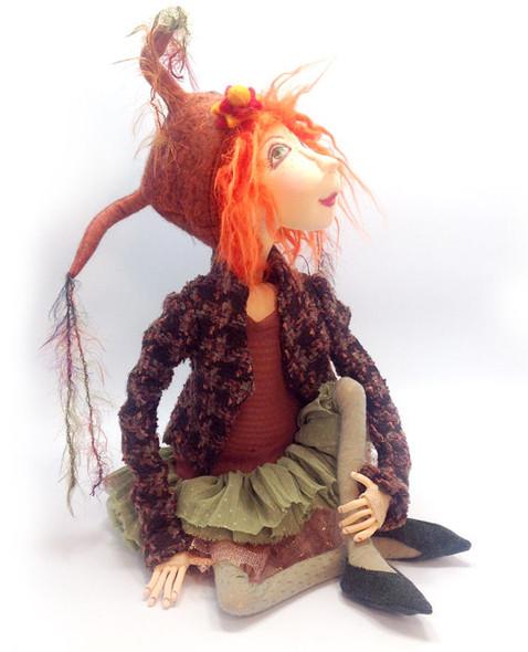 Irene Mary - Cloth Doll Pattern by Jill Maas