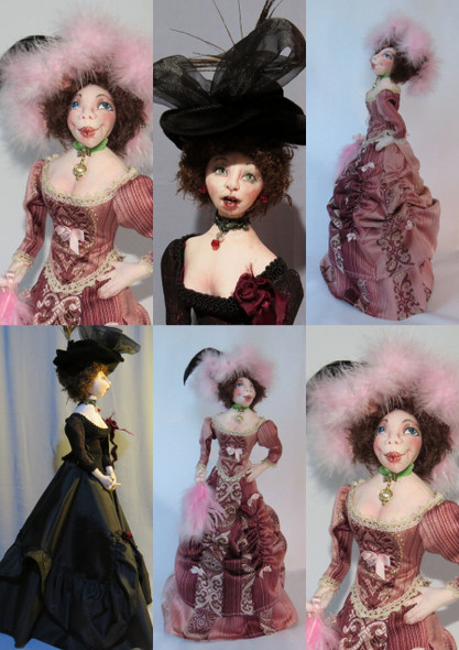 """Hello Dolly!  - An 18"""" (46cm) functional Doorstop Doll by Sharon Mitchell"""