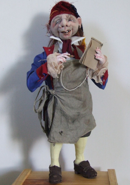 Innkeeper - Cloth Doll Pattern by Sharon Mitchell