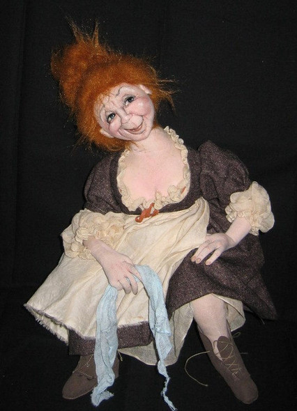 Jeanne – The Innkeepers Wife - Cloth Doll Pattern by Sharon Mitchell