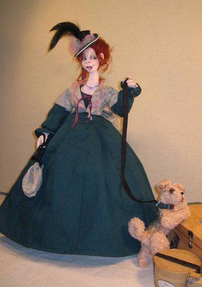 Miss Kate – Cloth Doll Pattern by Sharon Mitchell