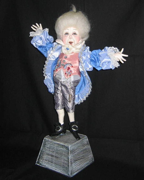 Percival Ponce – Cloth Doll Pattern by Sharon Mitchell