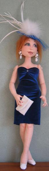 Krista – Cloth Doll Pattern by Sharon Mitchell