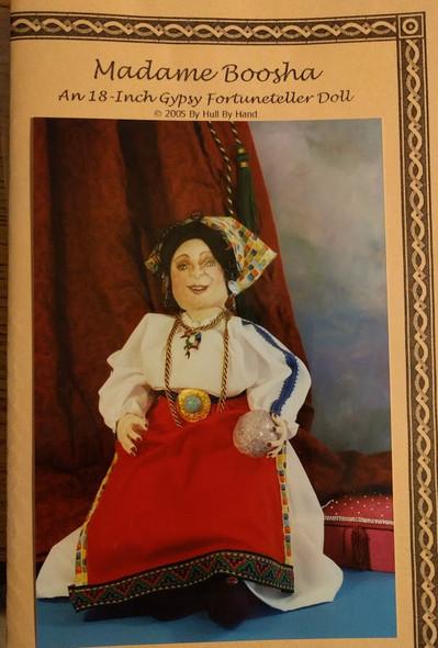 "Madame Boosha- 18"" Gypsy Fortuneteller  Doll Pattern by Mary Ann Hull"