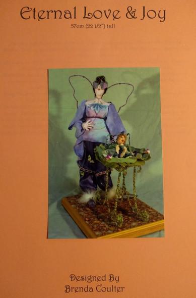 Eternal Love & Joy - 22 1/2in Cloth Doll Pattern by Brenda Coulter