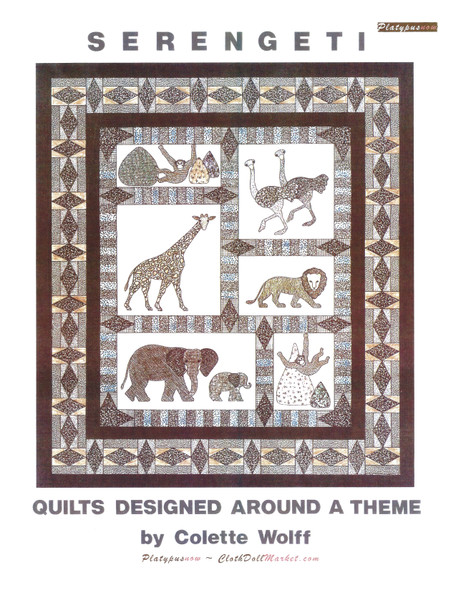 Serengeti Quilts, Quilting Pattern by Colette Wollf