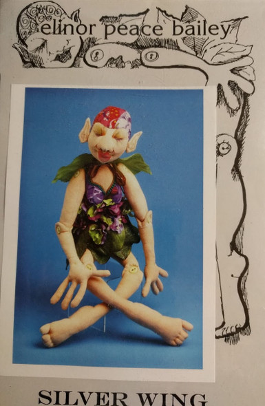 Silver Wing - Cloth Doll Pattern by epb