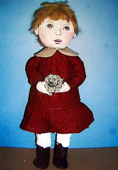 Alice With Nest, Cloth Doll Making Pattern