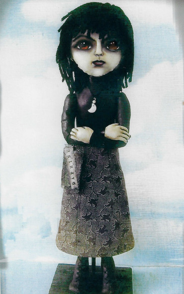 Daphine - 16' Painted Fabric Art Doll