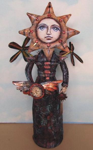 Connie - Cloth Art Doll  Pattern