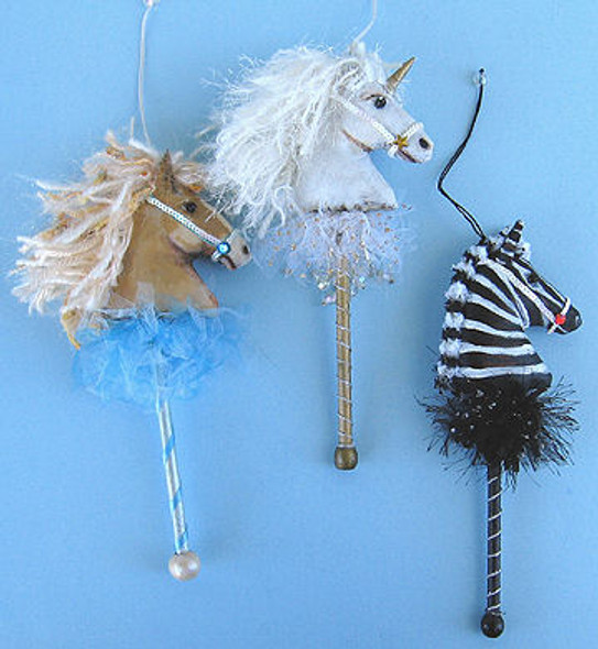 Horse Ornaments, Cloth Doll Making Pattern