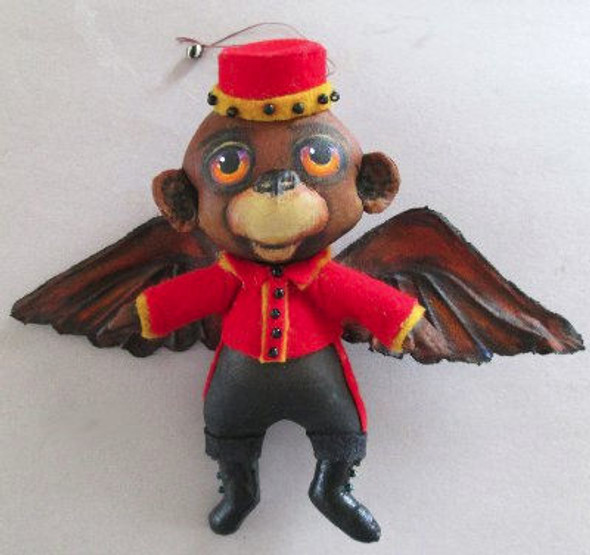 Flying Monkey Ornament, Cloth Doll Making Pattern