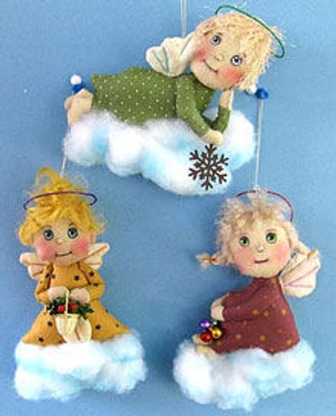 Little Angel Ornaments, Cloth Doll Making Pattern