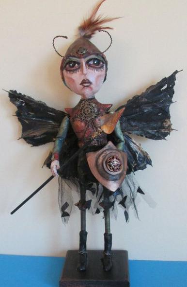 Warrior Wasp, Cloth Doll Making Pattern