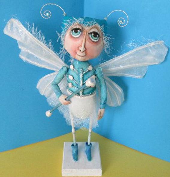 Moth With Baton, Cloth Doll Making Pattern