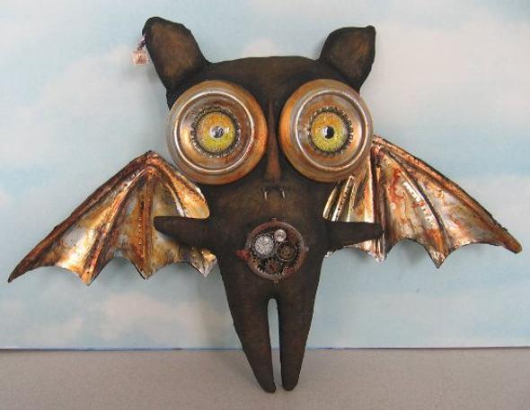 Thaddeus, Steampunk Bat Cloth Doll Making Pattern