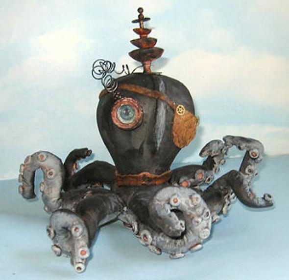 Steampunk Octopus, Cloth Doll Making Pattern