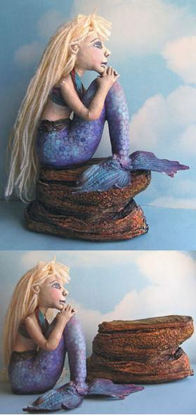 Roxie - Cloth Mermaid Doll Pattern