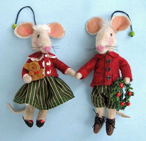 Mousey, Cloth Doll Making Pattern