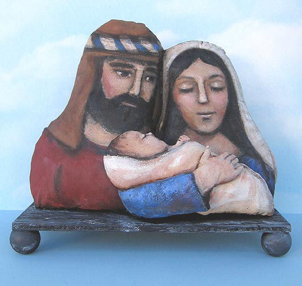 Holy Family, Cloth Doll Making Pattern