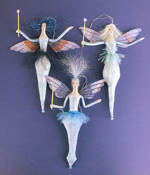 Icicle Fairies, Cloth Doll Making Pattern