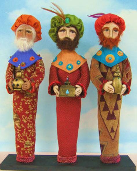 Wise Men, Cloth Doll Making Pattern