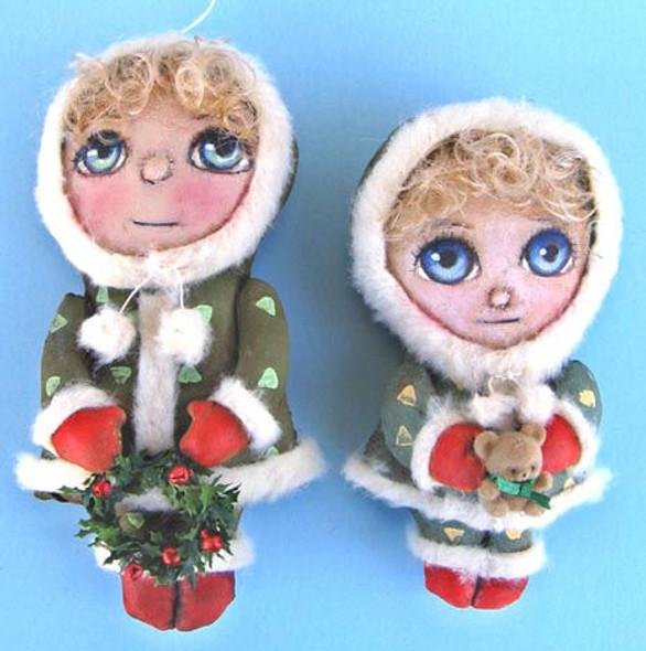 Winter Girls, Cloth Doll Making Pattern