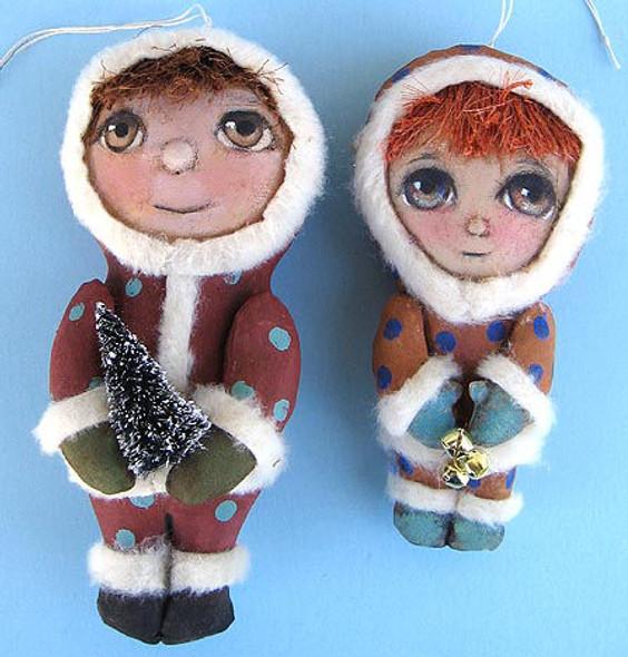 Winter Boys, Cloth Doll Making Pattern