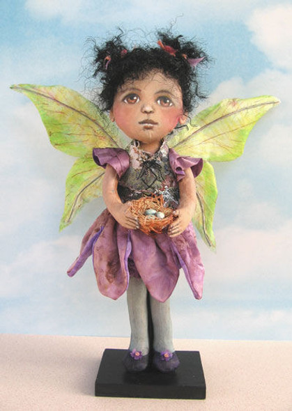 """Vylette, 12"""" Fairy Cloth Doll Making Pattern"""