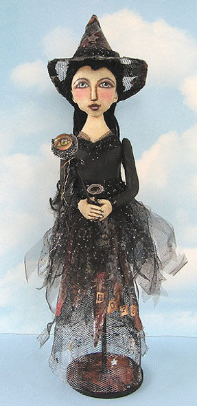 Hope Witch, Cloth Doll Making Pattern
