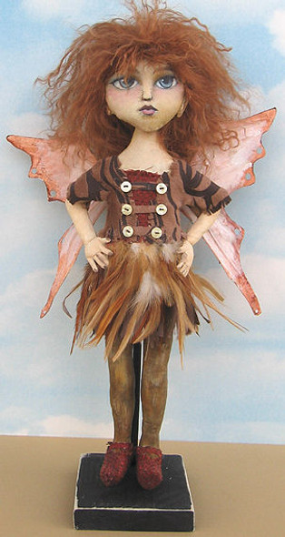 Halley, Fairy Cloth Doll Making Pattern