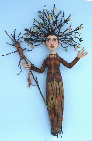 Treesa,  Cloth Doll Making Pattern