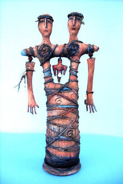 Ancestor Spirit, Cloth Doll Making Pattern