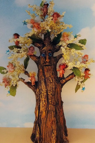 Fairy Tree, Cloth Doll Making Pattern