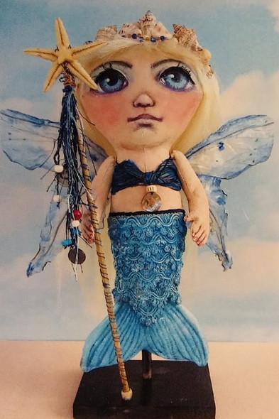 Gale, Mermaid Cloth Doll Making Pattern