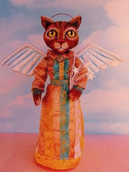 Emma, Cat Angel Cloth Doll Making Pattern