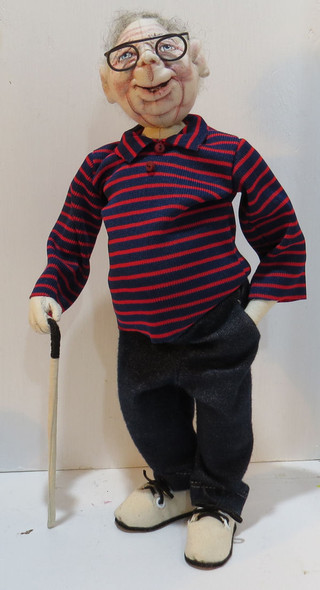 Baby Boomer Brian,  Cloth Doll Pattern by Sharon Mitchell