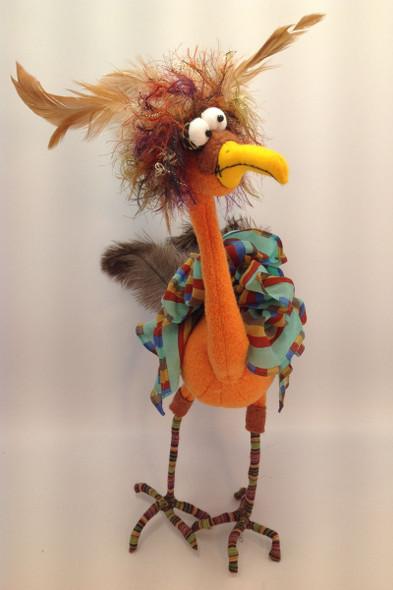 Augustine - Cloth Doll Pattern by Jill Maas