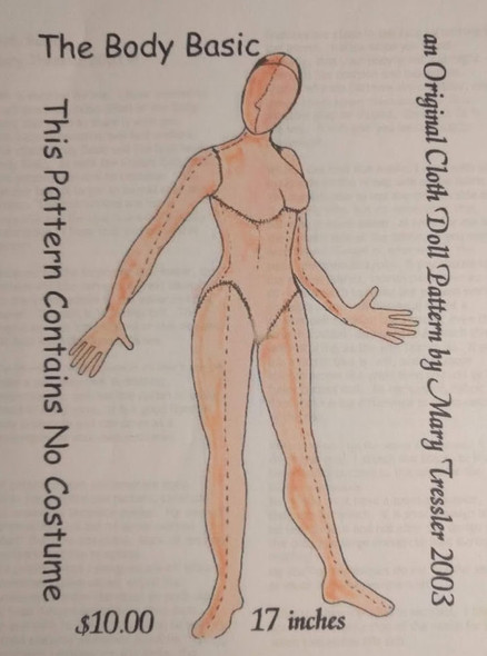 The Body Basic - Cloth Doll Pattern by Mary Tressler