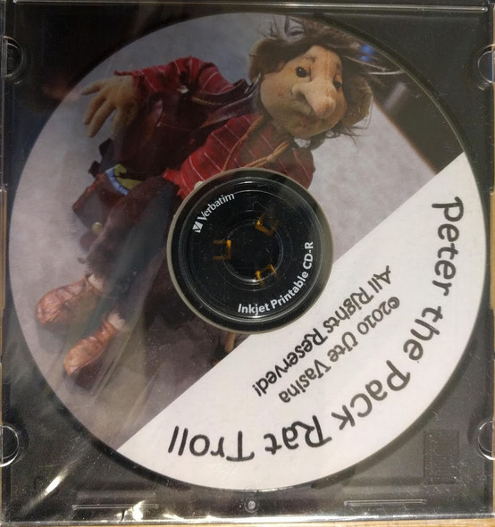 Peter the Pack Rat Troll - CD Cloth Doll Pattern