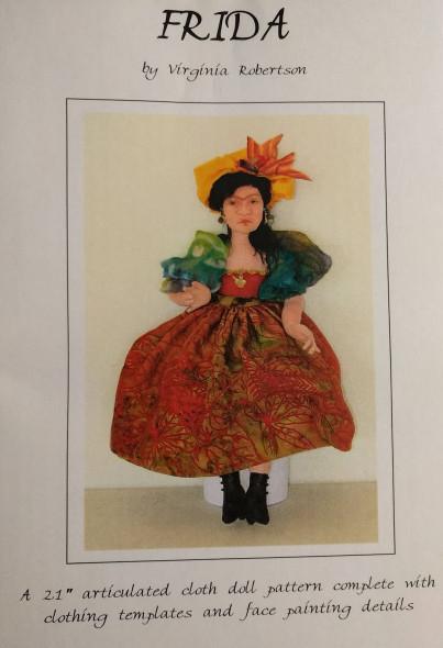 Frida - Cloth Doll Pattern