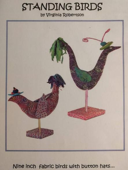 Standing Birds - Cloth Doll Pattern