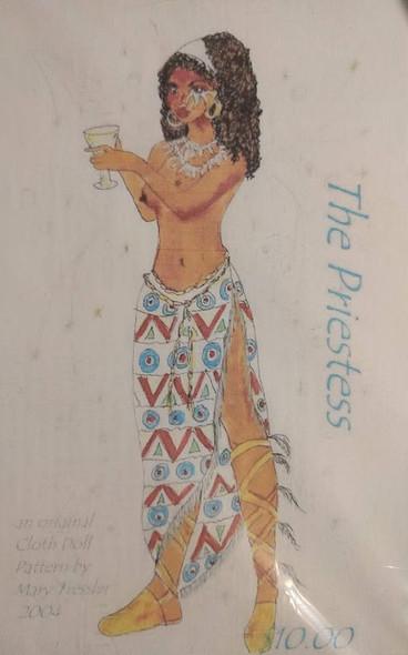 The Priestess - Cloth Doll Pattern