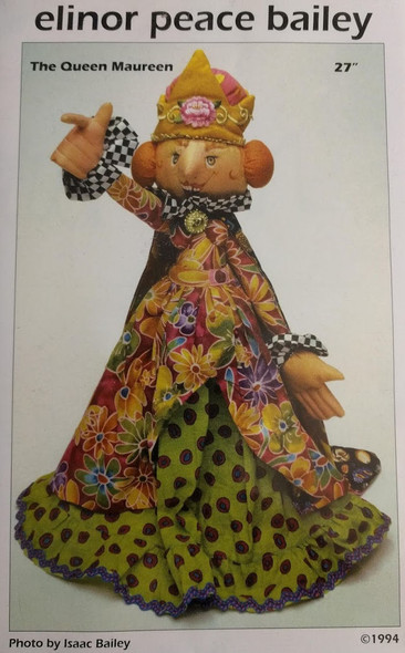 The Queen Maureen - Cloth Doll Pattern