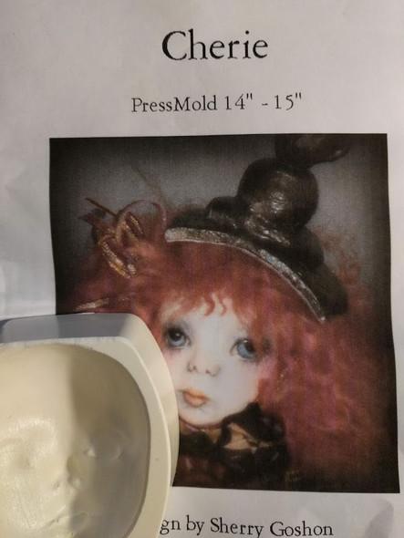 """Cherie - PressMold 14"""" - 15"""" by Sherry Goshon"""