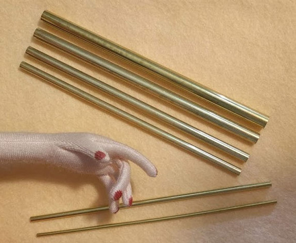 Tiny Turning Tubes - Recommended by Dollmakers for Turning Even the Tiniest Fingers. Best Seller! Loved by Dollmakers!