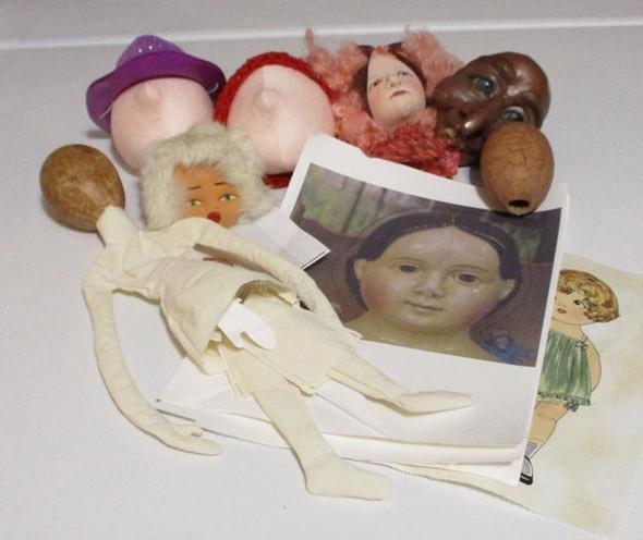 Assorted heads For Cloth Doll Making  - Judi Ward's Stash Sale